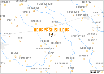 map of Novaya Shishlova