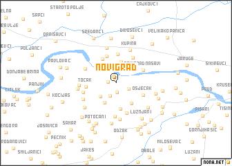 map of Novi Grad