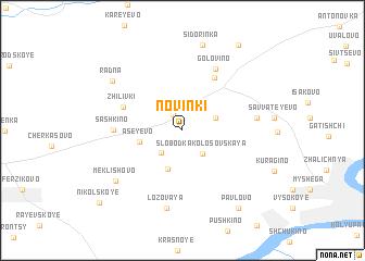 map of Novinki
