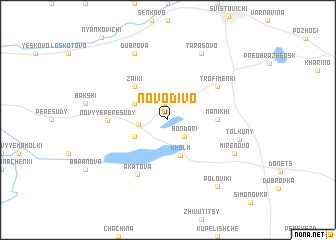 map of Novo-Divo