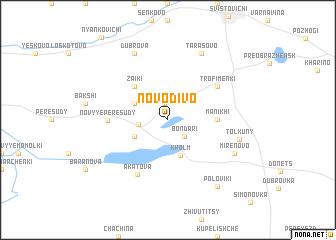 map of Novo-Divo