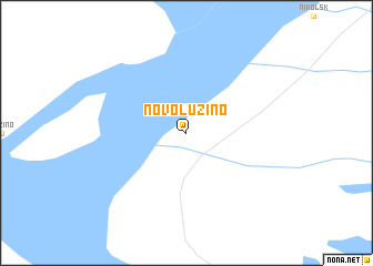 map of Novoluzino
