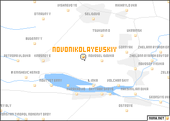 map of Novo-Nikolayevskiy