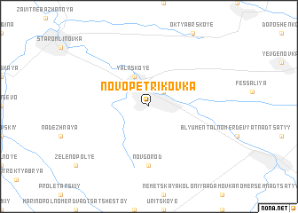 map of Novopetrikovka