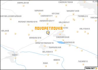 map of Novopetrovka
