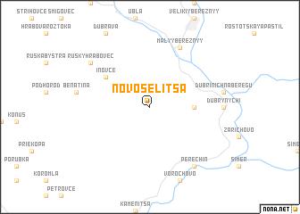 map of Novoselitsa