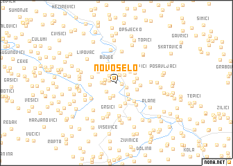 map of Novo Selo