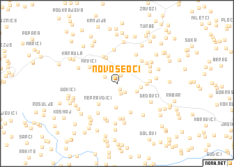 map of Novoseoci