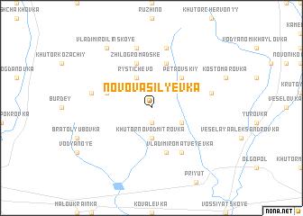 map of Novovasil'yevka