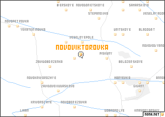 map of Novo-Viktorovka
