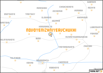 map of Novoye Nizhniye Avchukhi