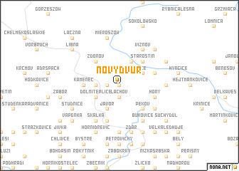 map of Nový Dvŭr