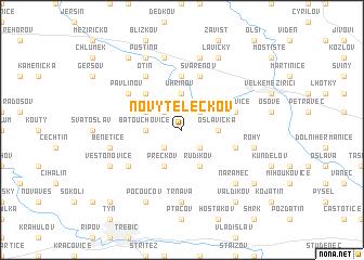 map of Nový Telečkov