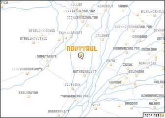 map of Novyy Aul