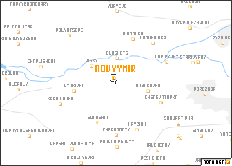 map of Novyy Mir