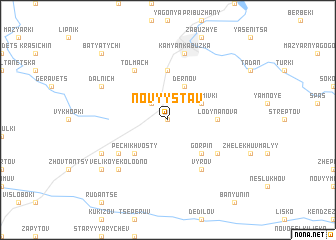 map of Novyy Stav