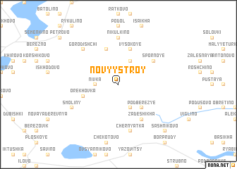 map of Novyy Stroy