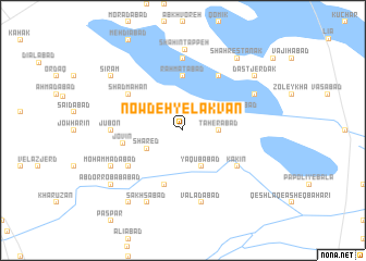 map of Now Deh-ye Lakvān