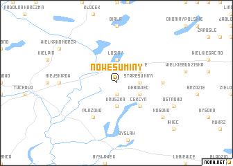 map of Nowe Suminy