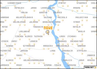 map of Nowe