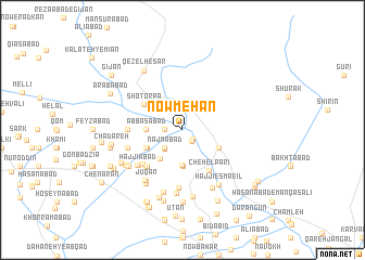 map of Now Mehan
