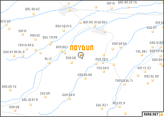 map of Nöydün