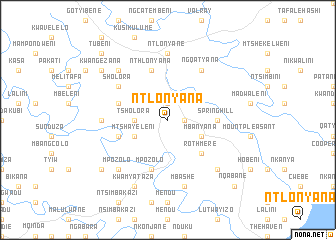 map of Ntlonyana