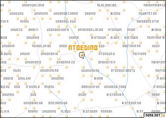 map of Nto Edino