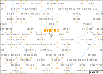 map of Ntonso