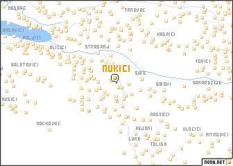 map of Nukići
