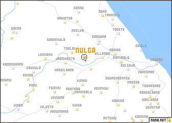 map of Nulga