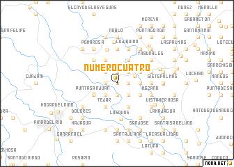 map of Número Cuatro