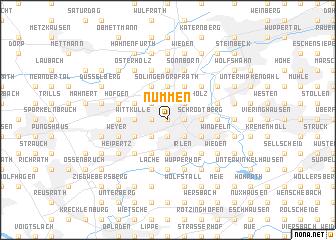 map of Nümmen