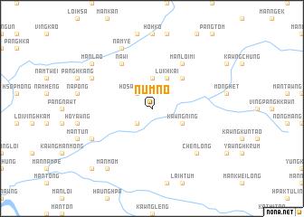 map of Num Nö