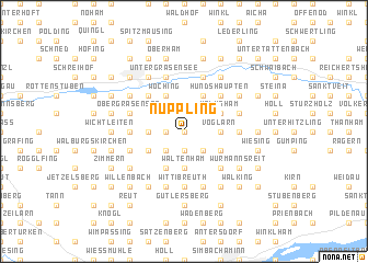 map of Nuppling