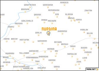 map of Nūrdīna