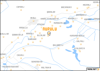 map of Nurulu