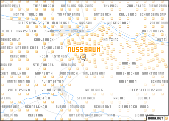 map of Nußbaum