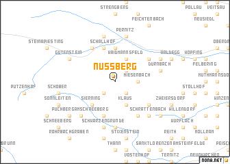 map of Nussberg