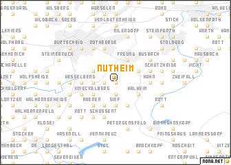 map of Nütheim