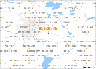 map of Nutzberg