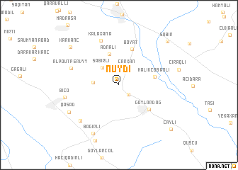 map of Nüydi