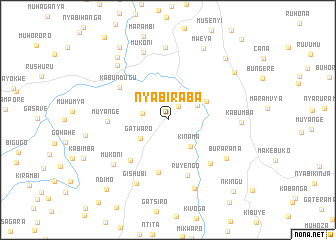 map of Nyabiraba