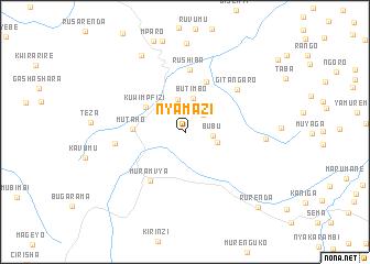 map of Nyamazi