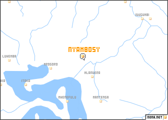 map of Nyambosy