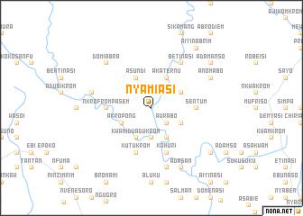map of Nyamiasi