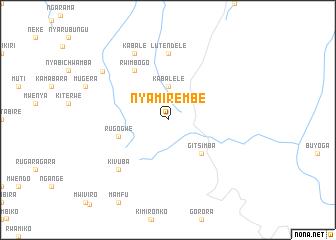 map of Nyamirembe