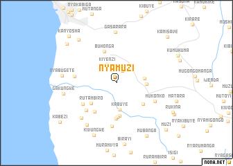 map of Nyamuzi