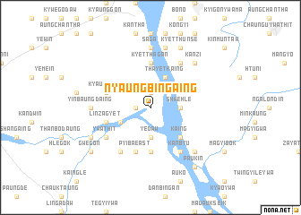 map of Nyaungbingaing