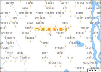 map of Nyaungbingyidaw
